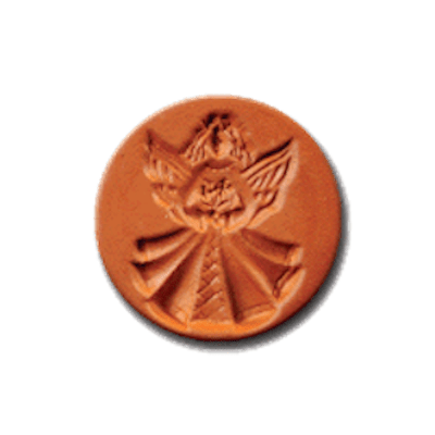 1061 Country Angel Cookie Stamp | CookieStamp.com