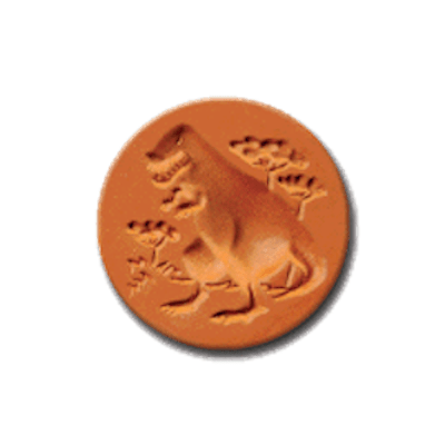 1063 T-Rex Cookie Stamp | CookieStamp.com