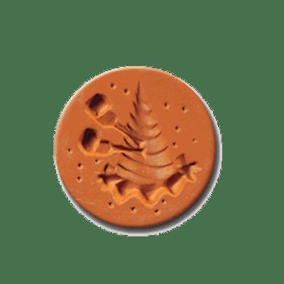 1072 Party Hat Cookie Stamp | CookieStamp.com