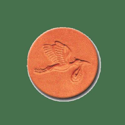385 Heirloom Rycraft Mr Stork Cookie Stamp | CookieStamp.com