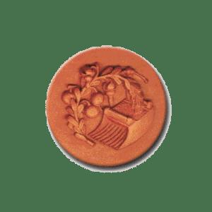 421 Heirloom Rycraft Cranberry Harvest Cookie Stamp | CookieStamp.com