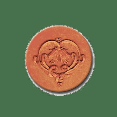 427 Heirloom Rycraft Spring Heart Cookie Stamp | CookieStamp.com