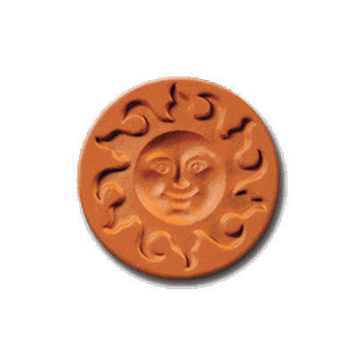 1006 Sunface Cookie Stamp | CookieStamp.com