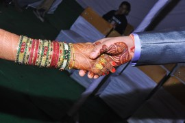 Indian foreigner getting married in Japan