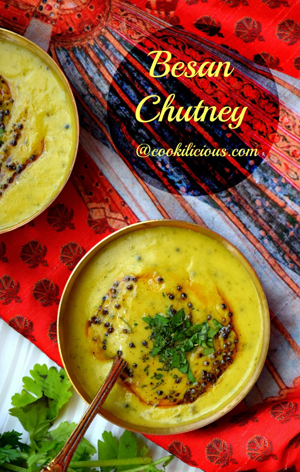 Besan Chutney/Bombay Chutney RecipeCondiments