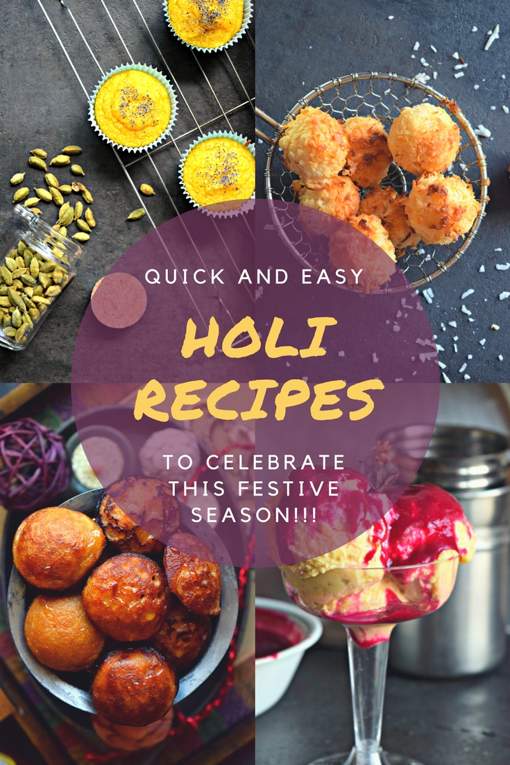 Recipe Round Up For HoliAppetizers & Snacks Desserts
