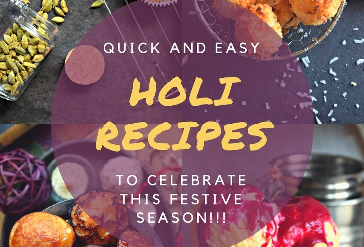 Recipe Round Up For Holi