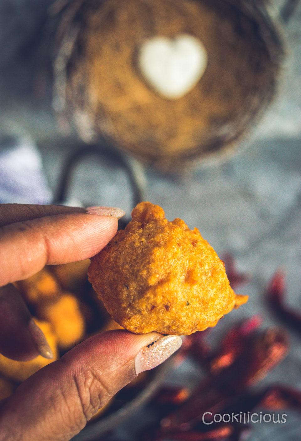 close up shot of South Indian Medu Wada | Lentil Fritters