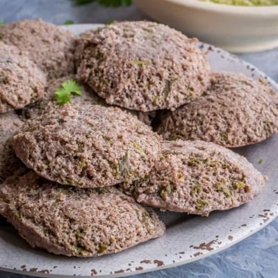 Ragi & Kale Idli   Finger Millet & Kale Steamed Cakes