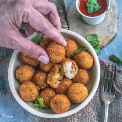 Semolina Vegetable Bites – Perfect Party Finger Food!
