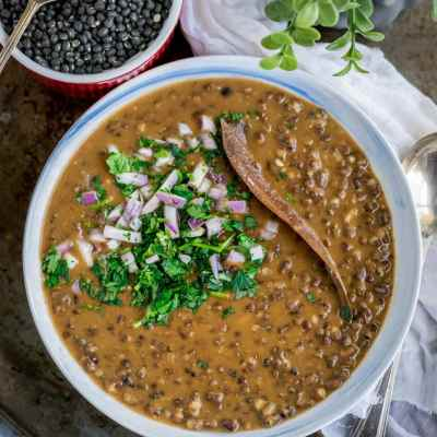 Simplest Black Lentils Stew | Kali Dal | Maa Ki Daal