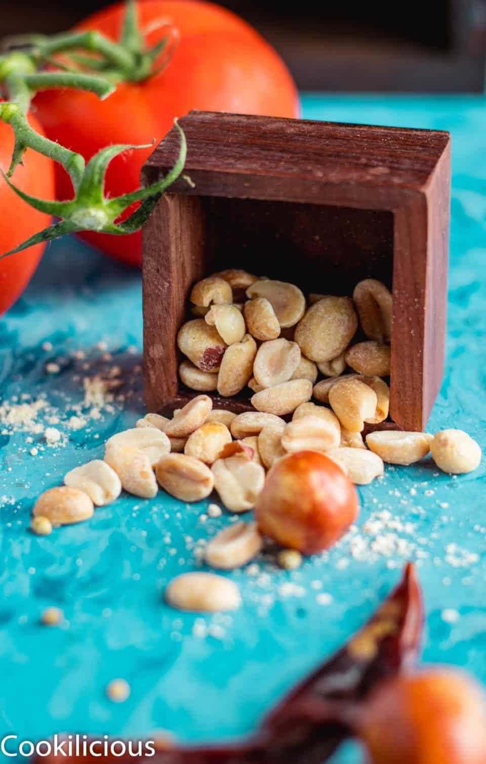 peanuts in a box