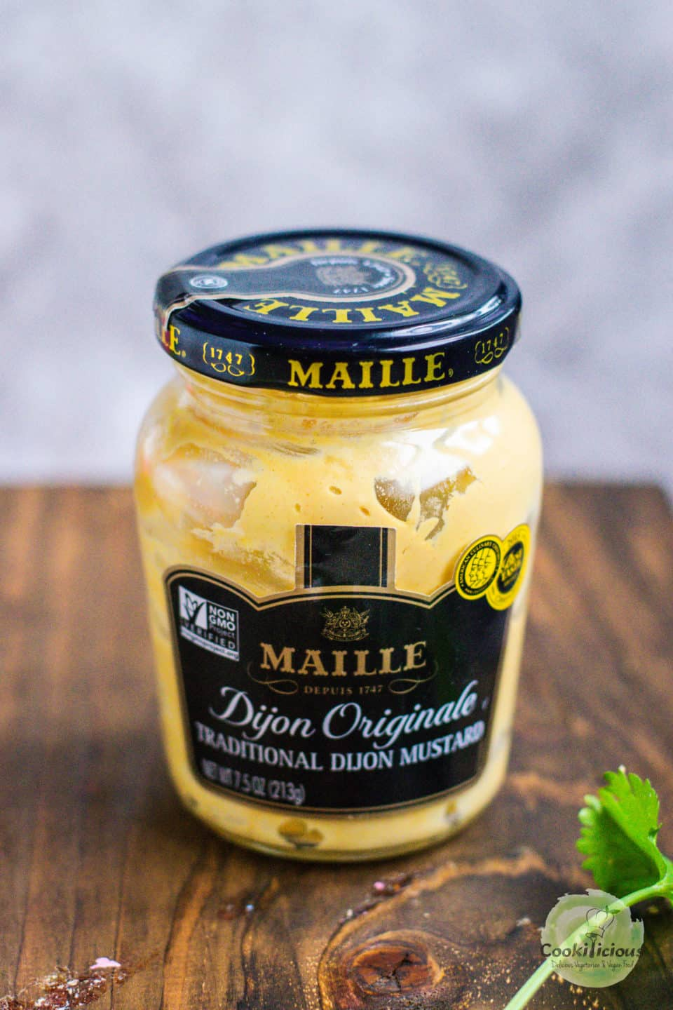 image of Maille Mustard in a jar