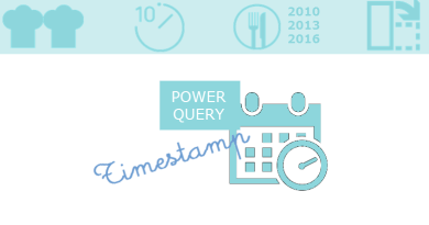 Comment transformer un Timestamp en Date avec PowerQuery