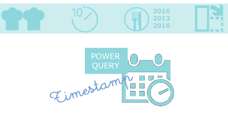 Comment transformer un Timestamp en Date avec PowerQuery