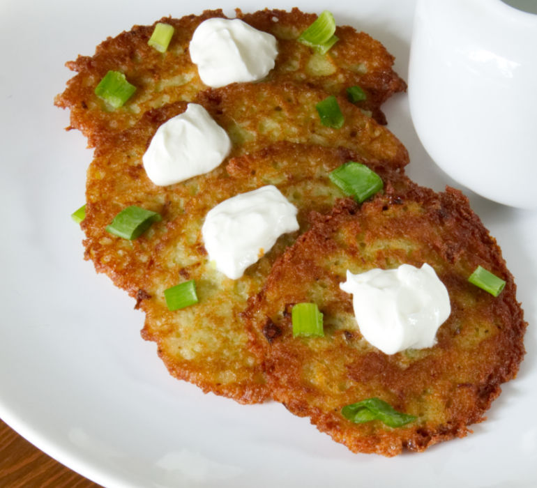 Traditional Polish Potato Pancakes