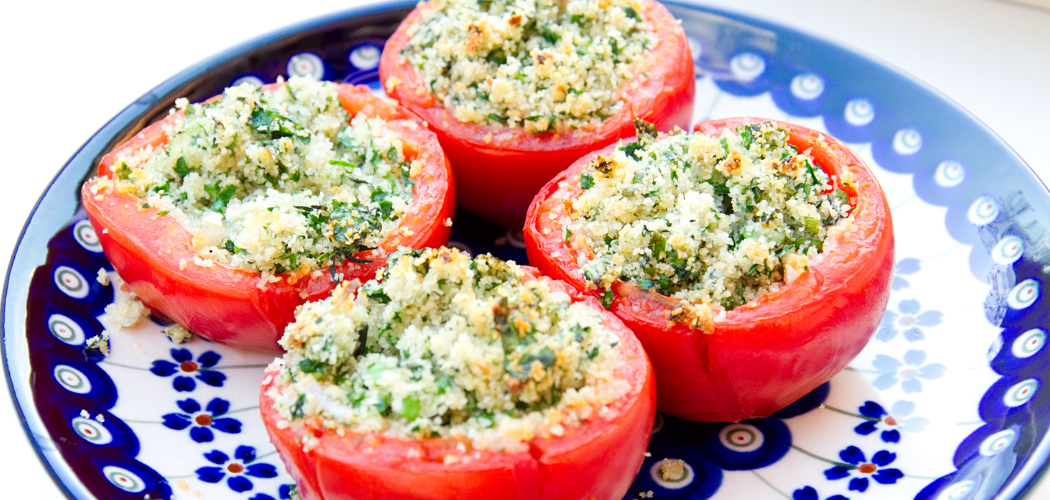 Julia Child Stuffed Tomatoes