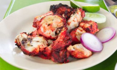chicken tandoori street food in kuala lumpur