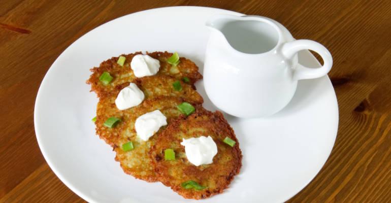 Placki ziemniaczane - Polish potato pancakes