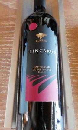 Sincaru from Vigne Surrau, Cannonau di Sardegna
