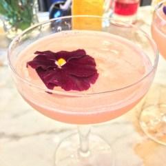 Gin cocktails at Selfridges