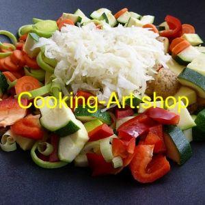 Gemüse-Wok II nah, groß