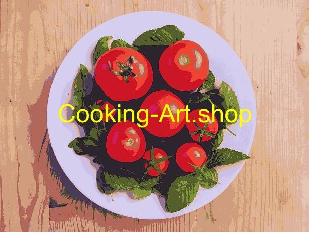 """Tomatengruppe I"" als Pop Art"