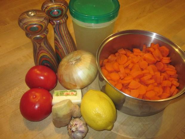carrot soup 026