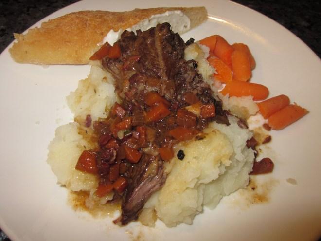 ham hock and lentil soup 043