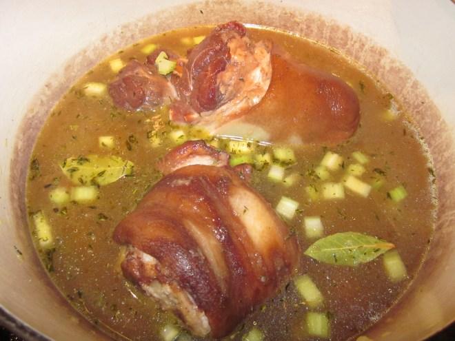 ham hock and lentil soup 053
