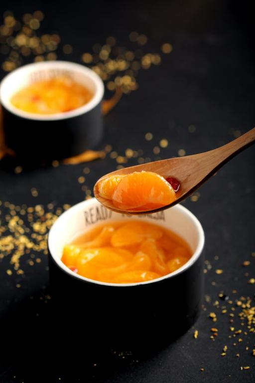 peaches with syrup