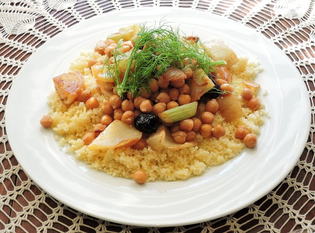 couscous on plate