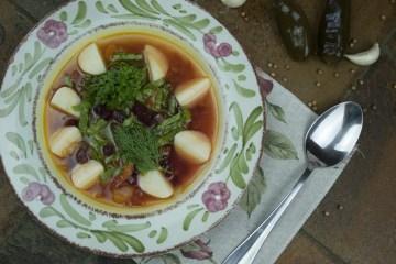Soup - Green Borscht - Spicy Borscht With Sorrel