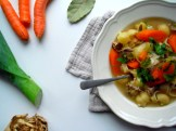 https://cookingbrainsblog.wordpress.com/2012/11/18/super-simple-soup-supper-a-hearty-chickensoup-with-no-twist-which-would-turn-vegan-if-you-loved-it-enough/