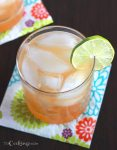 Lime Margaritas on the Rocks - CookingBride.com