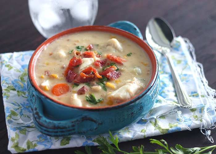 Corn and Crab Chowder - CookingBride.com