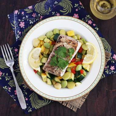Grilled Amberjack Recipe