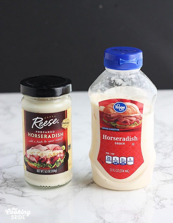 prepared horseradish