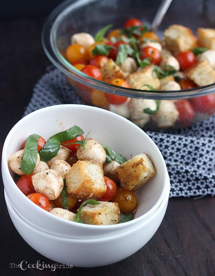 Tomato Basil and Mozzarella Salad 051 WM