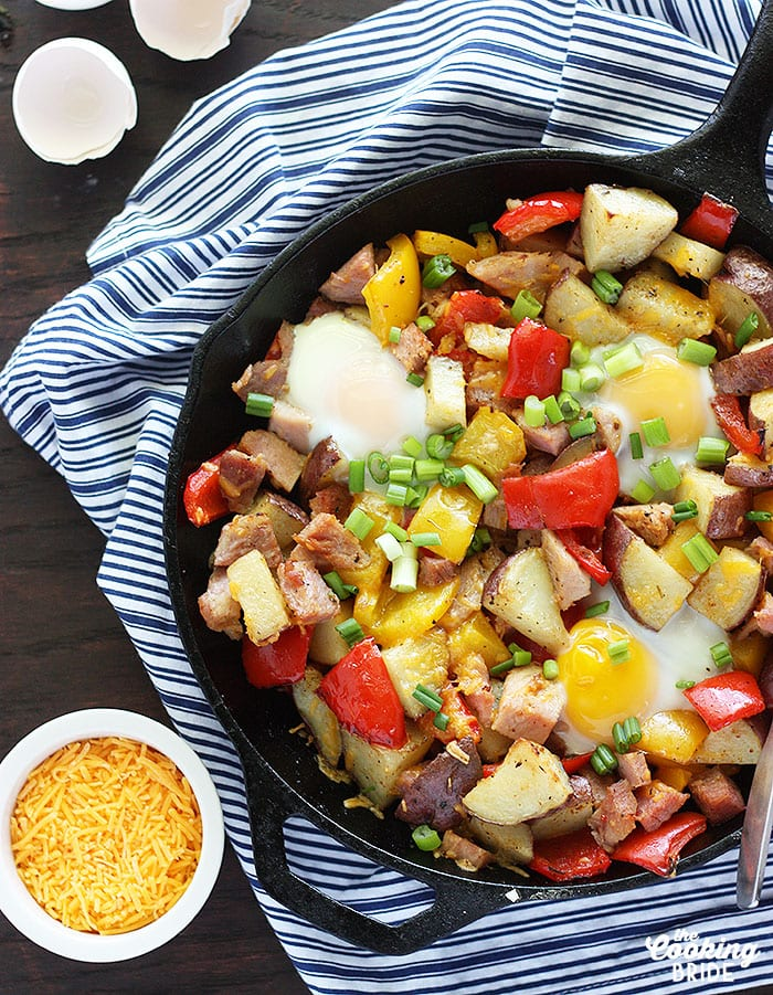 ham and egg hash