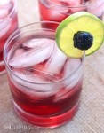 Blackberry Limeade Spritzers - CookingBride.com
