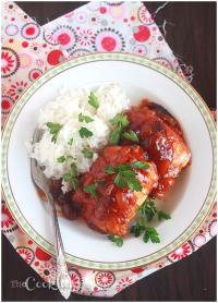 Cranberry Glazed Chicken Thighs - CookingBride.com