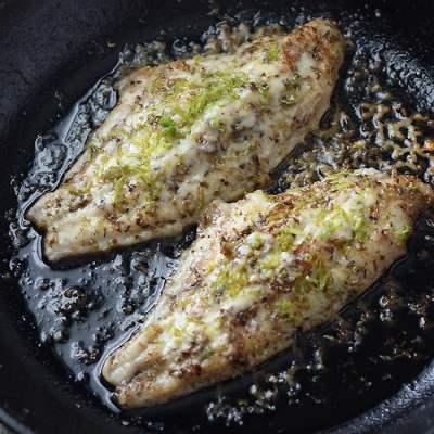 Skillet Grilled Catfish