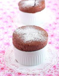 Mini Chocolate Souffles - CookingBride.com