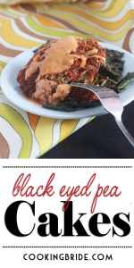Black Eyed Pea Cakes