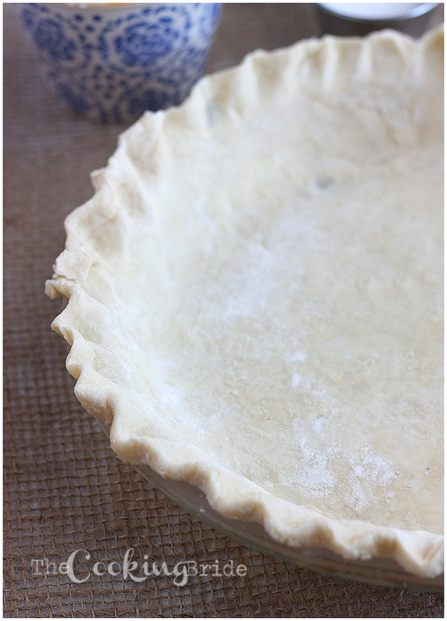 pie crust from scratch