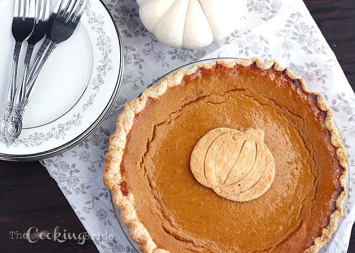 pumpkin pie recipe from scratch