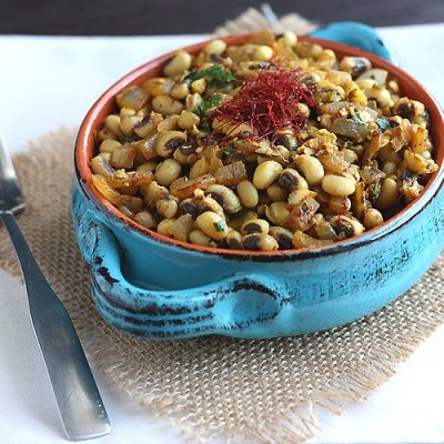 Black Eyed Peas with Saffron