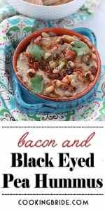 black eyed pea hummus recipe