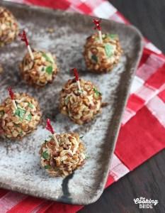 Brandy Cheese Balls - CookingBride.com
